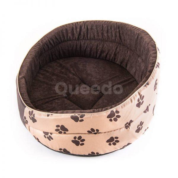 Kvalitné a vkusné pelechy pre psa Pianki labky béžové