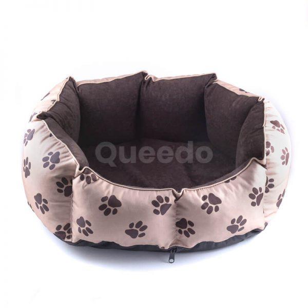 Pohodlné a vkusné pelechy pre psov výpredaj New York labky béžové