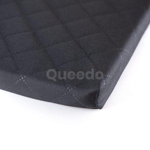 Pohodlné čierne matrace pre psov Deluxe