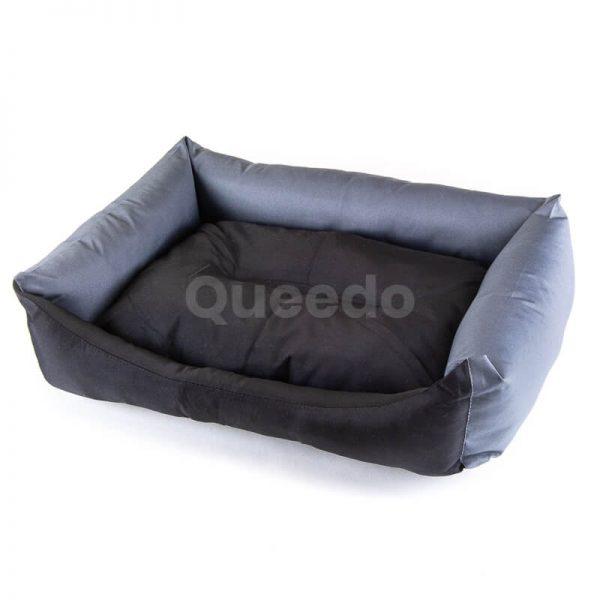 Odolné a pohodlné pelechy p=re psov Eco čierno grafitové