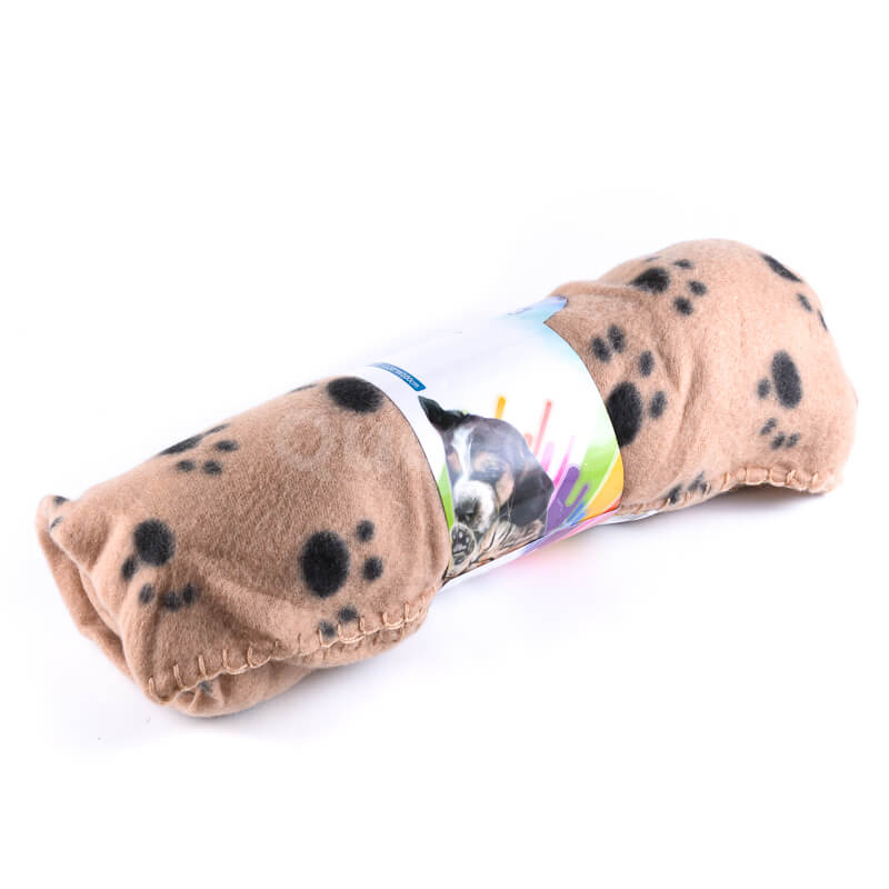 Pohodlná deka pre mačku do auta béžová