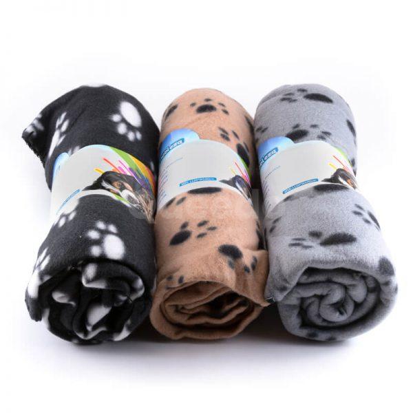 Moderné deky pre psa rôzne farby