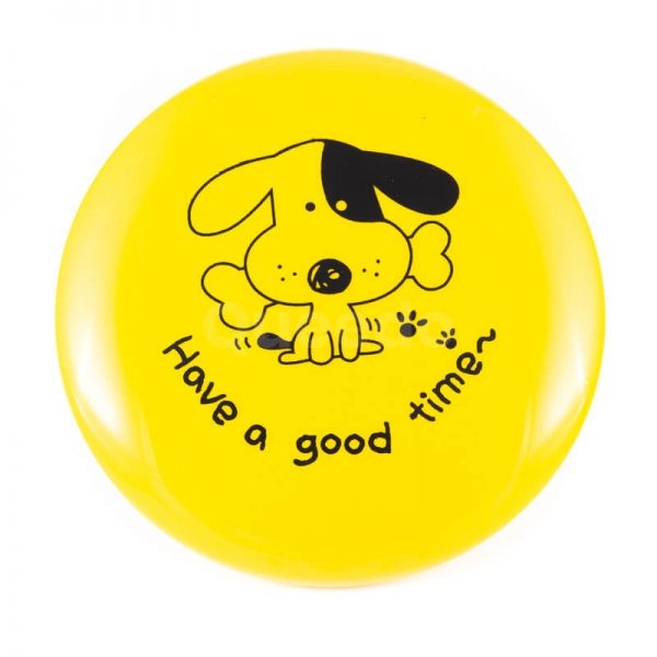 Odolné frisbee pre psa žlté