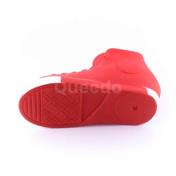 Gumená hračka pre psa väčšia topánka červená