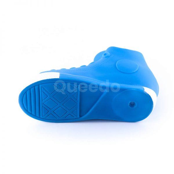 Gumená hračka pre psa väčšia topánka modrá