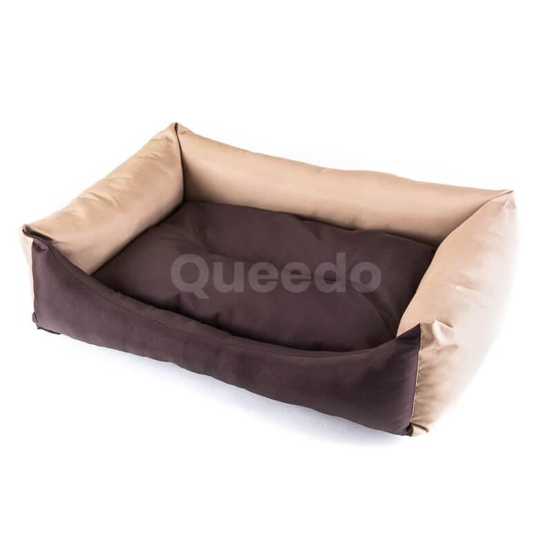 Pohodlné pelechy pre psov Eco hnedo béžové
