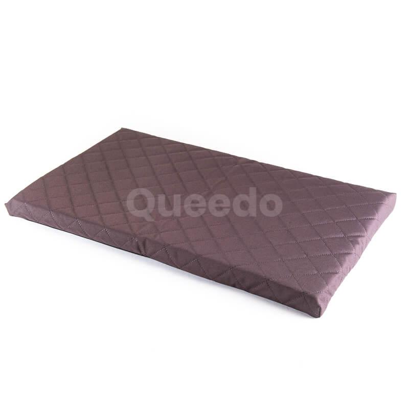 Elegantný hnedý matrac pre psa Deluxe