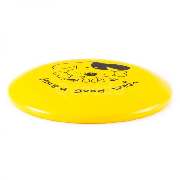 Hračka frisbee pre psa žlté