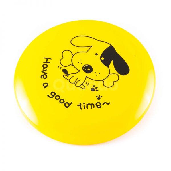 Zábavná hračka pre psa frisbee žlté