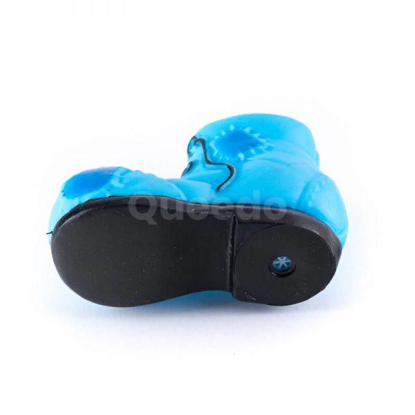 Zábavná hračka pre psa menšia topánka modrá