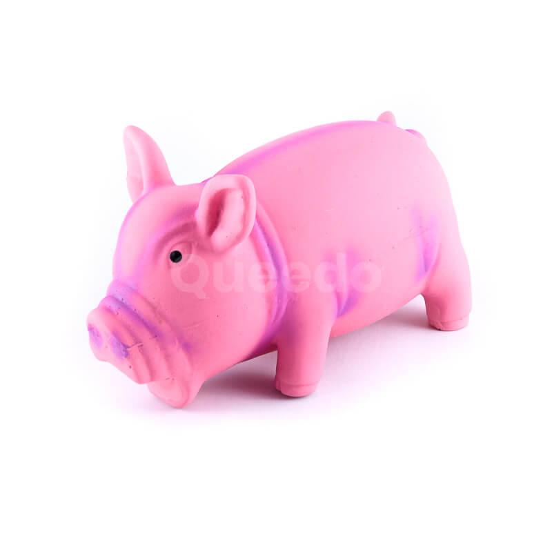 Zábavná hračka pre psa prasiatko ružovej farby