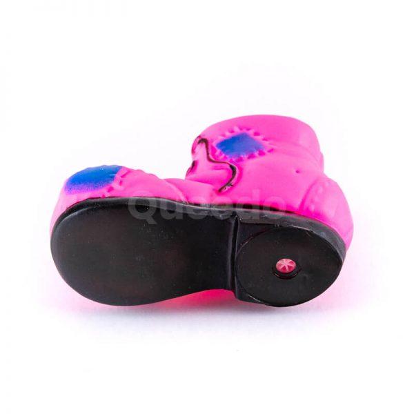 Vkusná hračka pre psa menšia topánka ružová