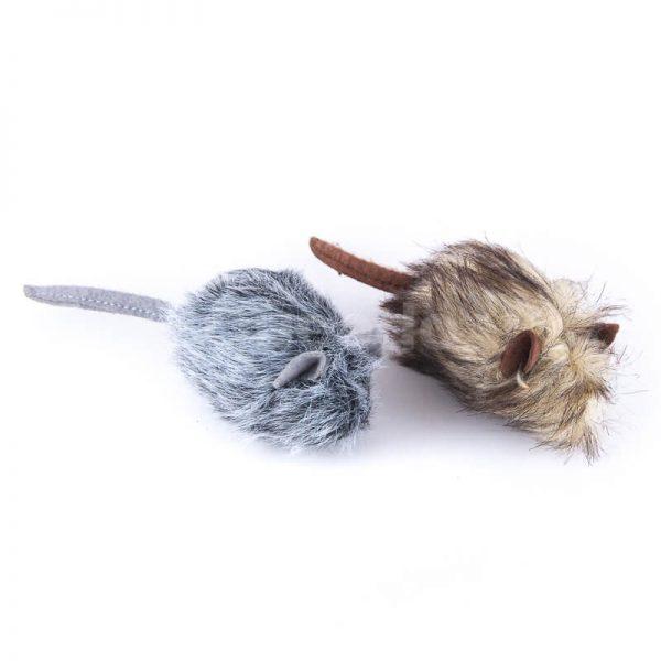 Milé hračky pre mačky chlpaté myšky