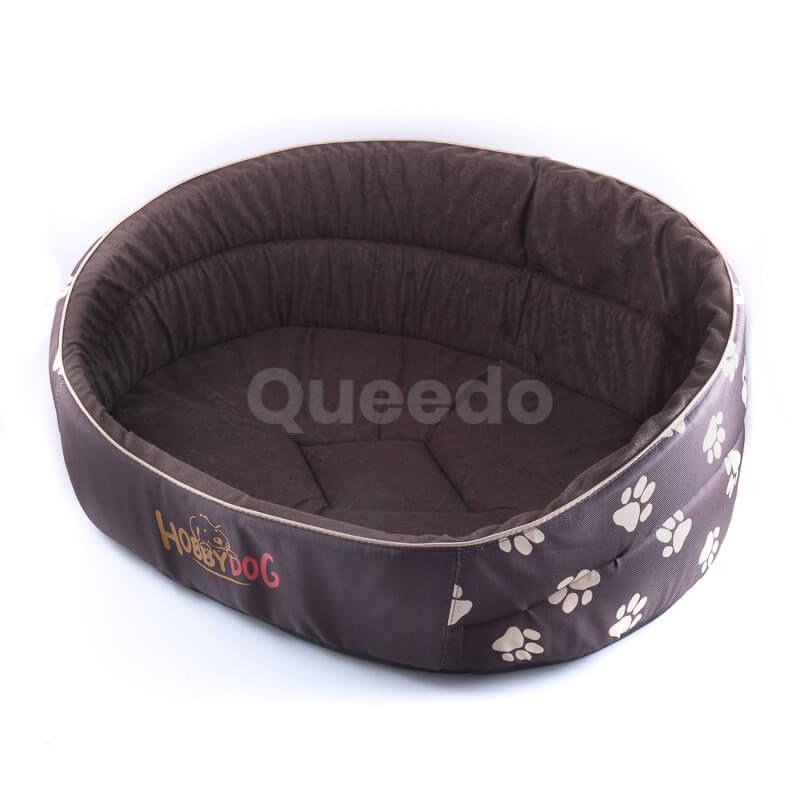 Moderné lacné pelechy pre psov Pianki hnedé