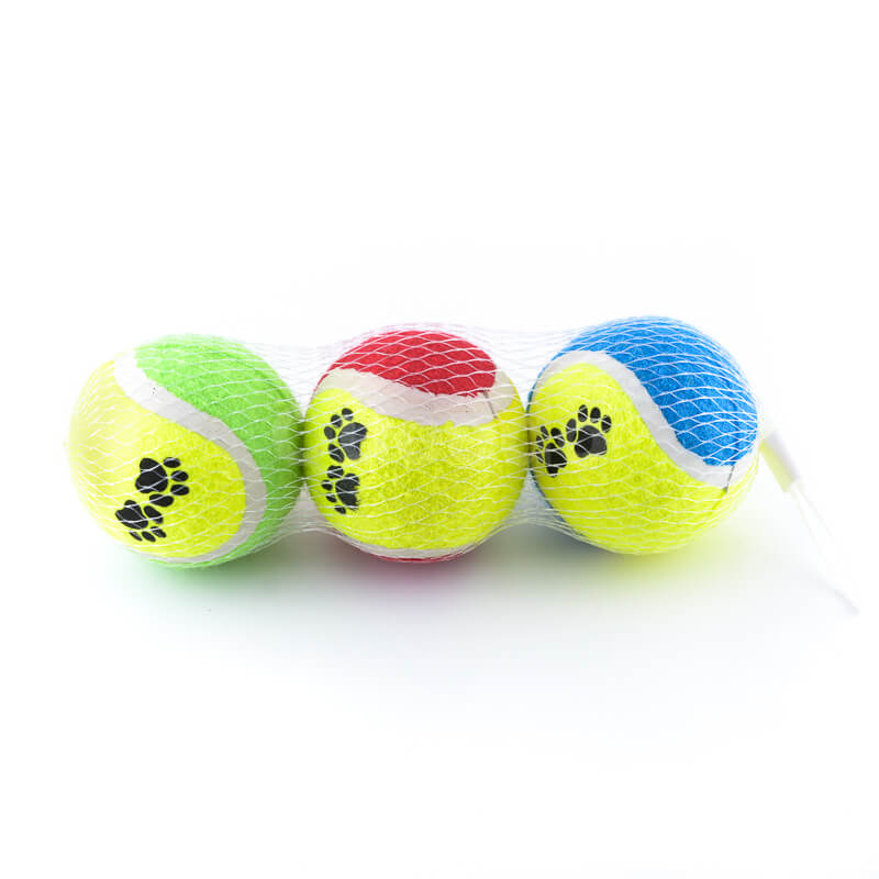 Praktické loptičky pre psov tenisové set