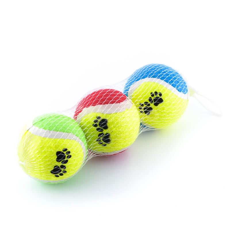 Zábavné lopty pre psov tenisové set