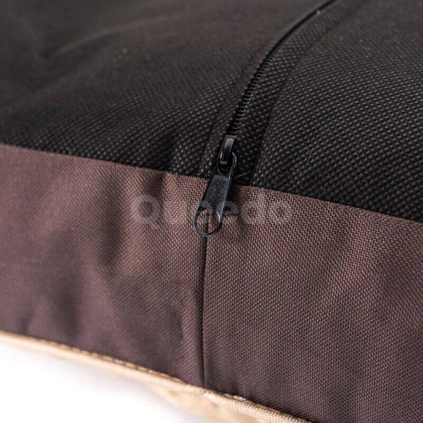 Moderný matrac pre psov ovál labky béžový