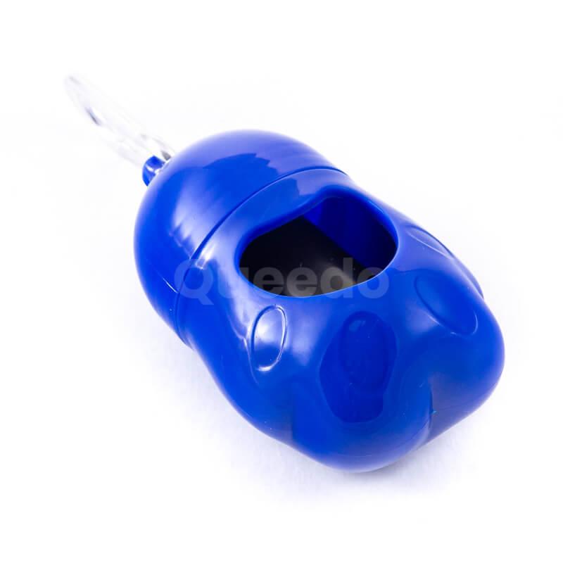 Modré púzdro na sáčky