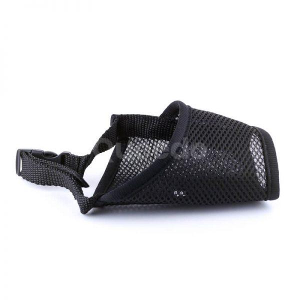Praktický náhubok pre psa fixačný nylon čierny