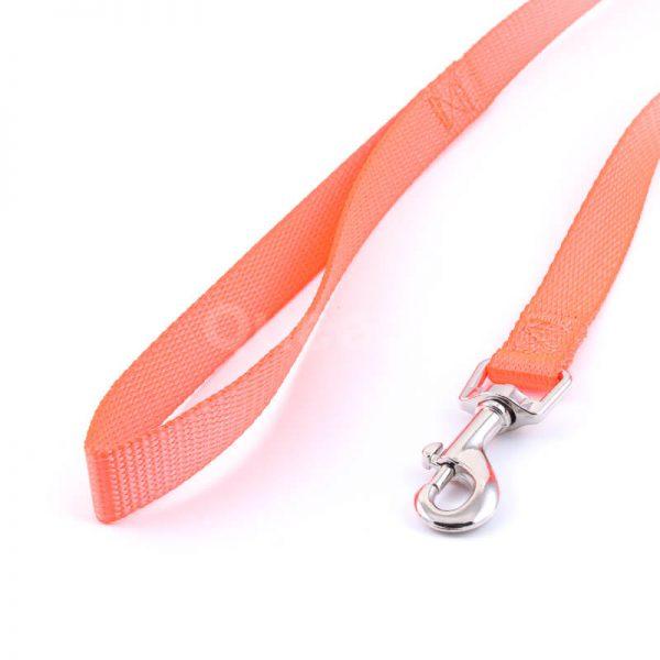 Praktické vodítko pre psa light oranžovej farby