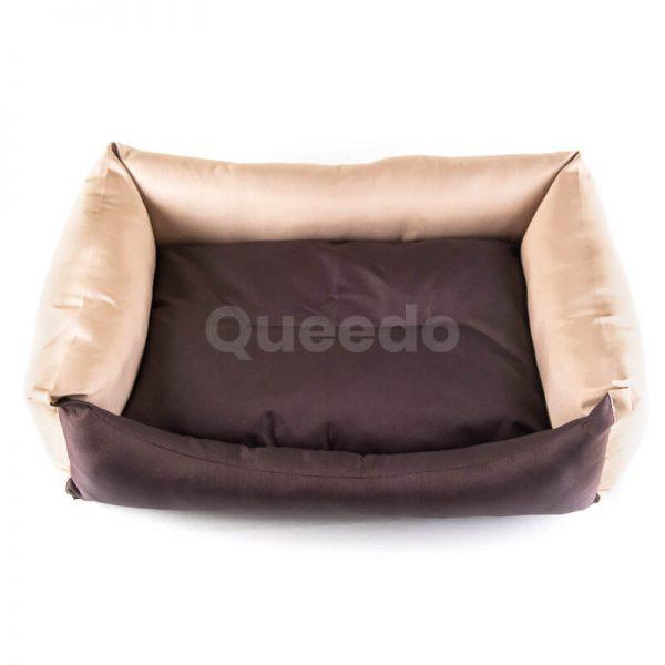 Moderný pelech pre psa Eco hnedo béžový