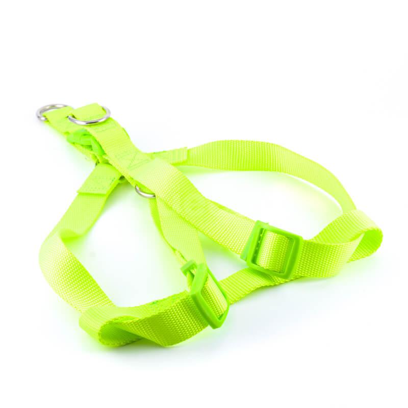 Praktické popruhy pre psov light svetlozelené