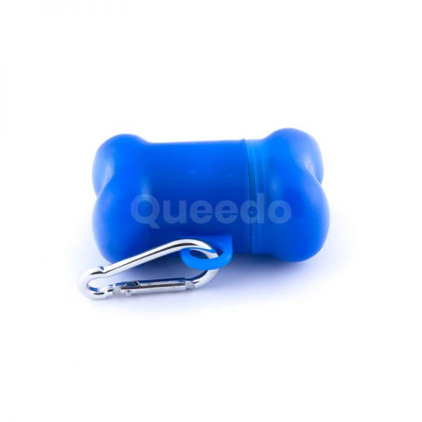 Kvalitné púzdro na sáčky kosť modré