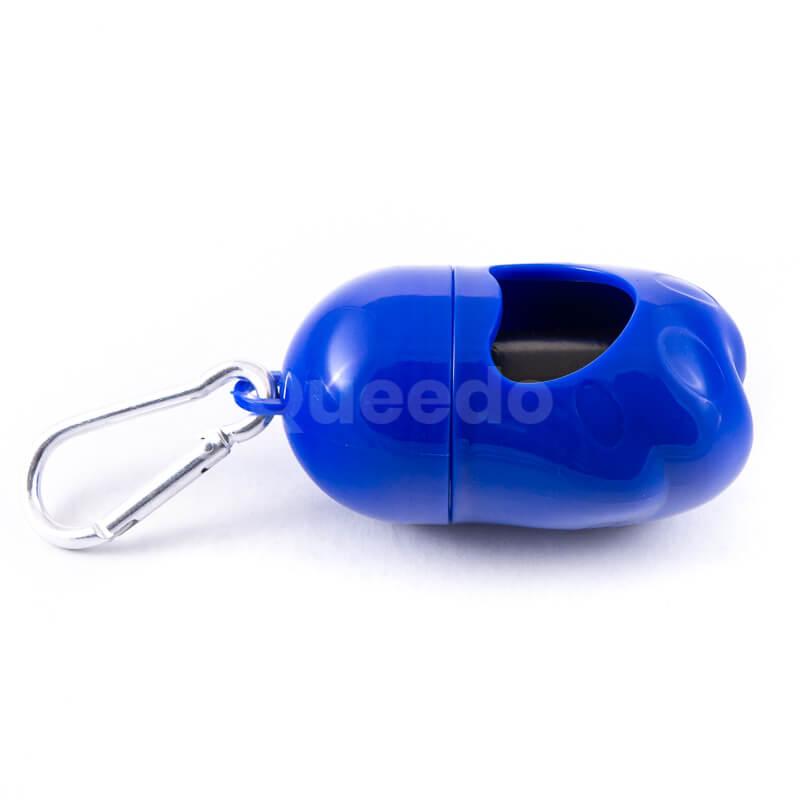 Púzdro na sáčky na exkrementy modré