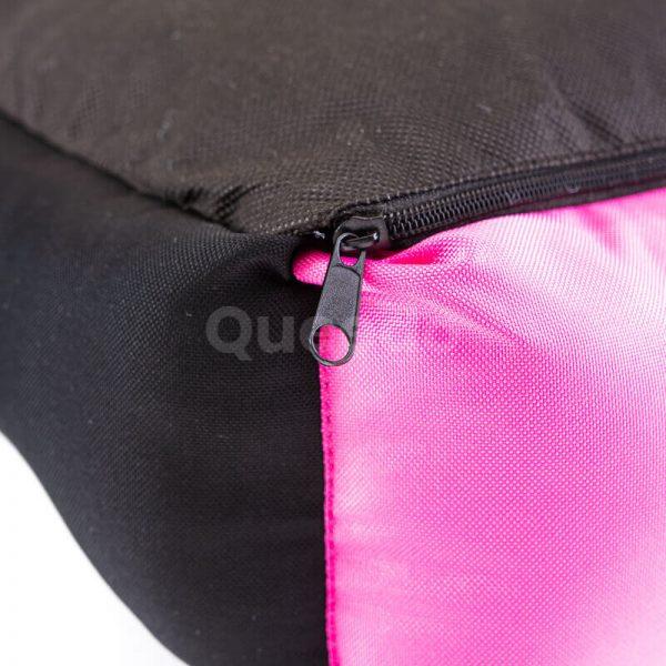 Vkusné ružové pelechy pre psov výpredaj Eco s čiernou