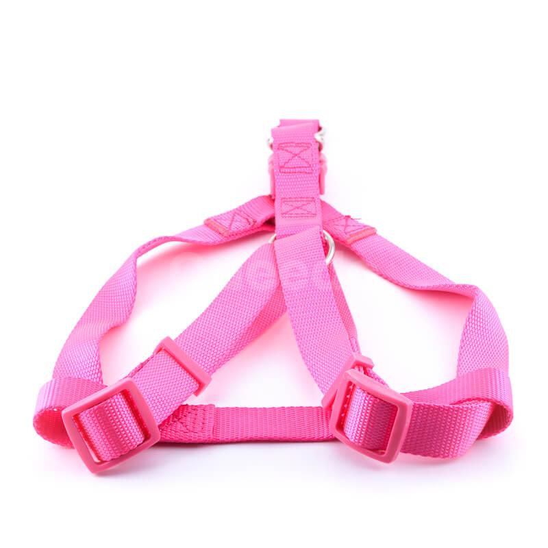 Krásny postroj pre psa light ružovej farby