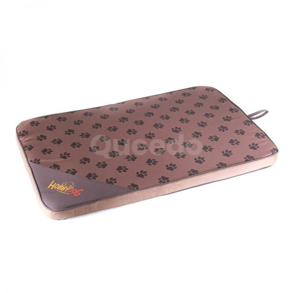Pohodlný svetlohnedý matrac pre psa Light labky