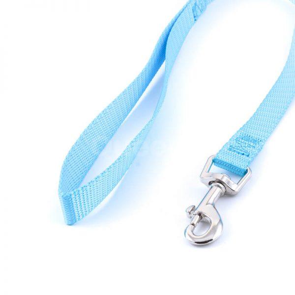 Kvalitné vodítko pre psa light tyrkysovej farby