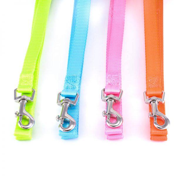 Kvalitné reflexné vodítka pre psov light rôzne farby