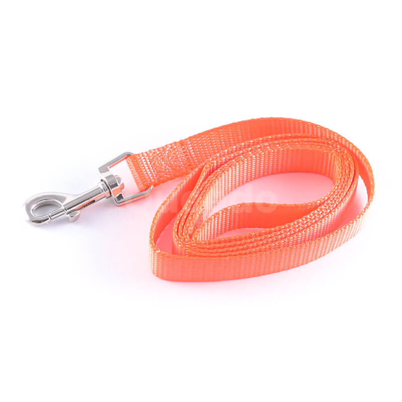 Svietivé vodítko pre psa light oranžové
