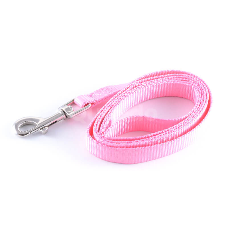 Krásne vodítko pre psa light ružové