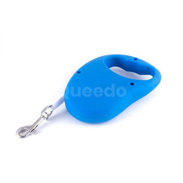 Praktické flexi vodítko pre mačky basic modré