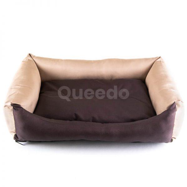 Estetické a kvalitné mačacie pelechy Eco hnedo béžové