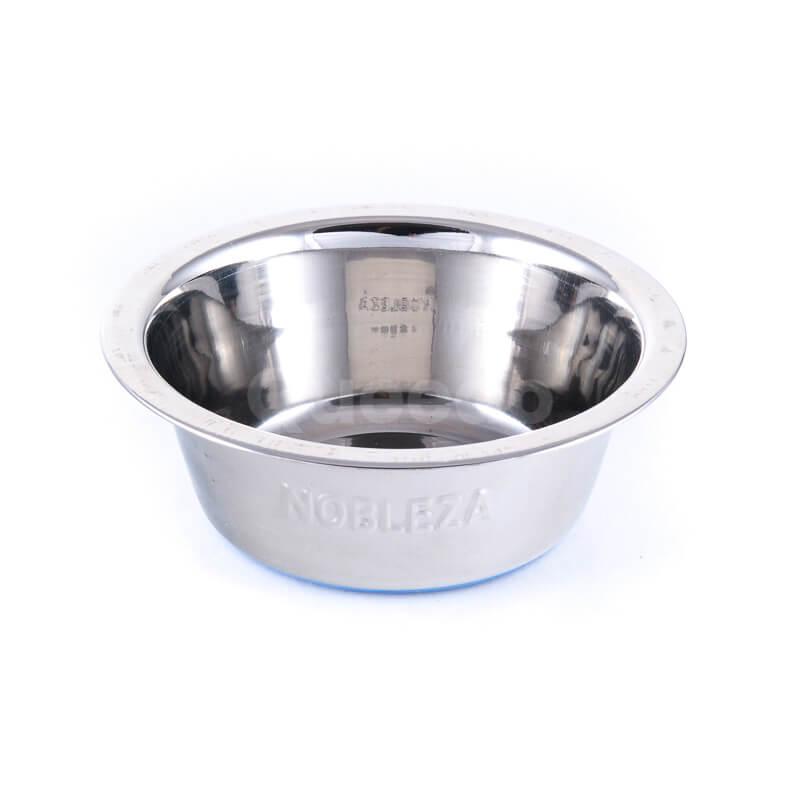 Praktická nerezová miska pre psa basic
