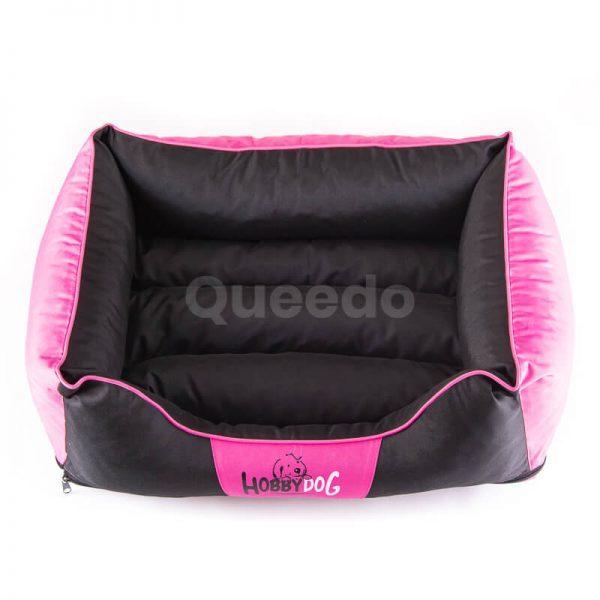 Krásny pelech pre mačky Comfort ružovo čierny