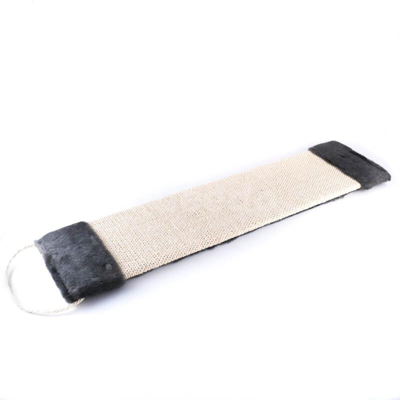 Odolné škrabadlo na stenu tkanina plyš väčšie čierne