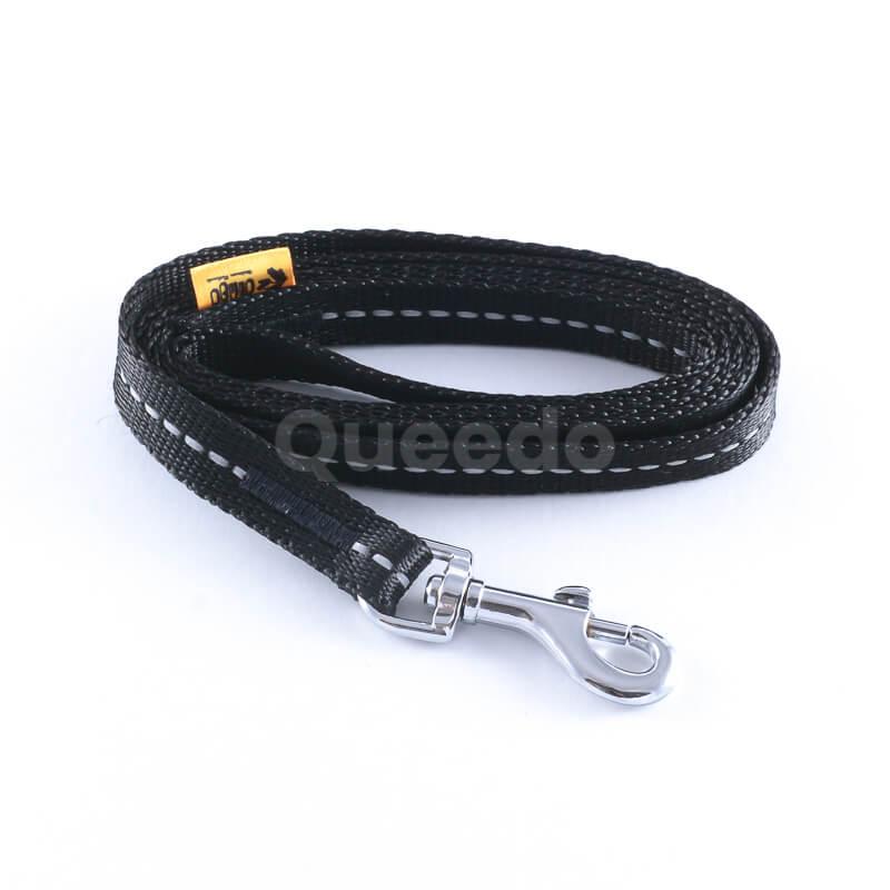 Elegantné vodítko pre mačky reflex čierne