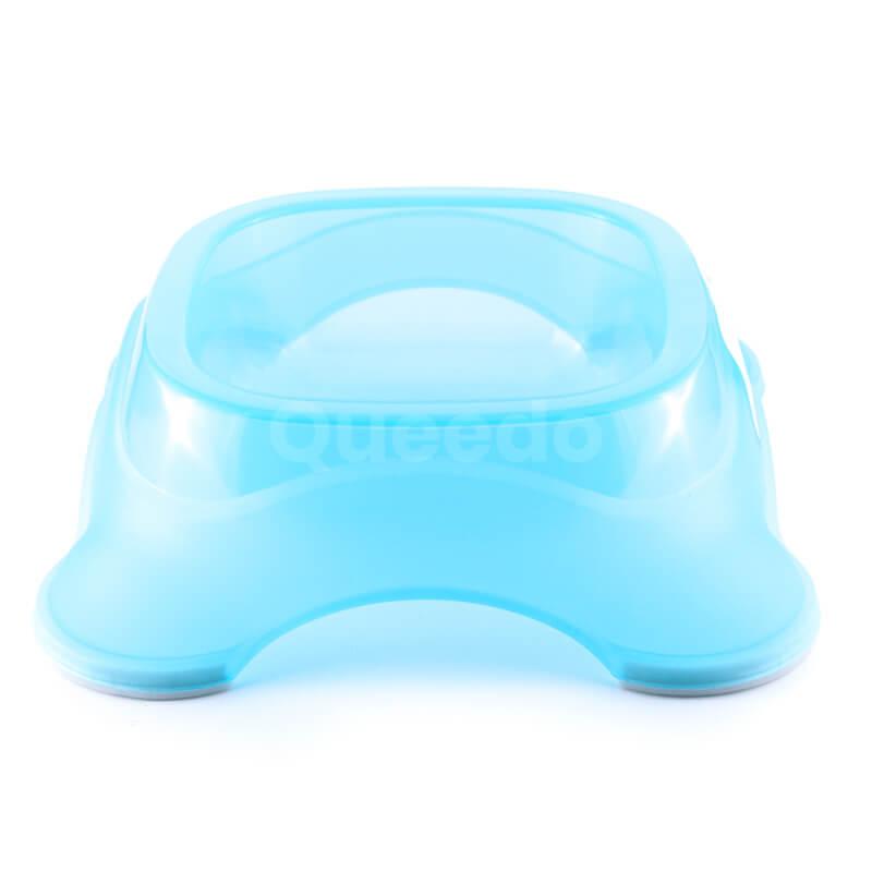 Kvalitná plastová miska pre psa modrá