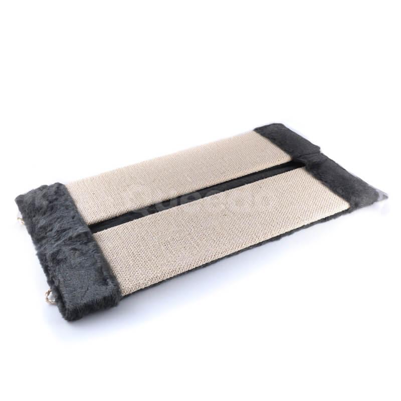 Odolné škrabadlo na stenu rohové tkanina väčšie čierne