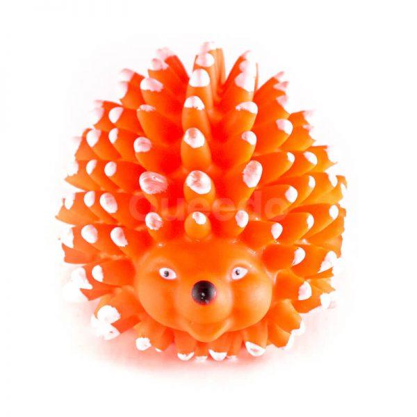 Krásna hračka pre psa ježko pichliače oranžová