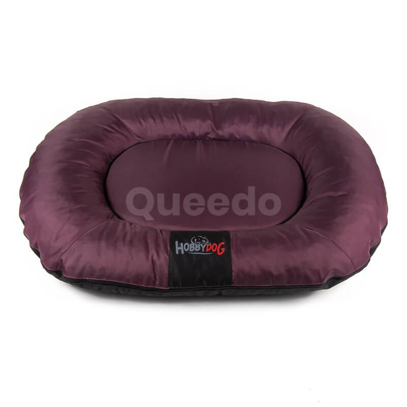 Bordový Prestige vankúš pre psa Queedo