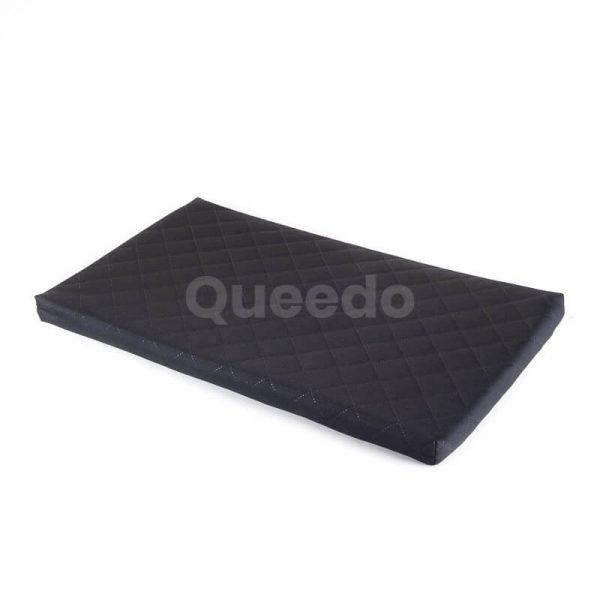 Čierny matrac pre mačku Deluxe Queedo