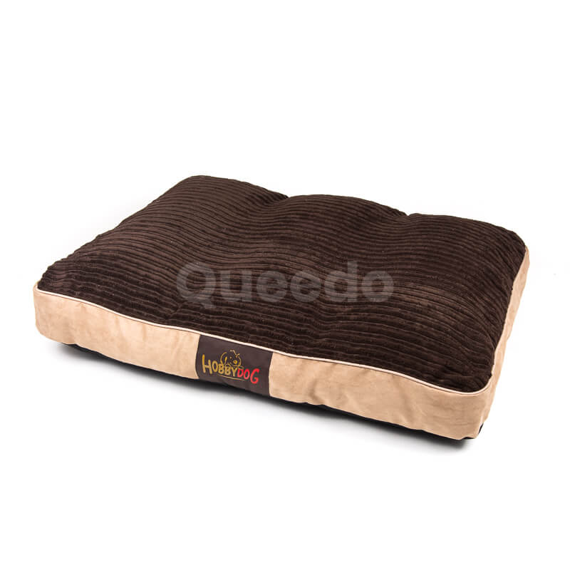 Hnedý matrac pre psa Corduroy Queedo