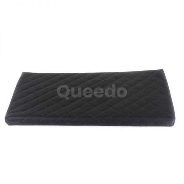 Mačacie lehátko Deluxe čierne Queedo