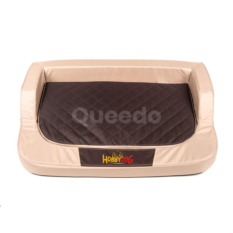 Praktický ortopedický pelech pre psa Medico béžovo hnedý Queedo
