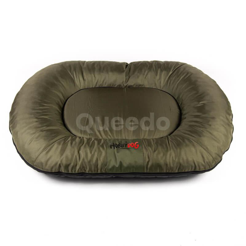 Tmavozelený Prestige vankúš pre psa Queedo